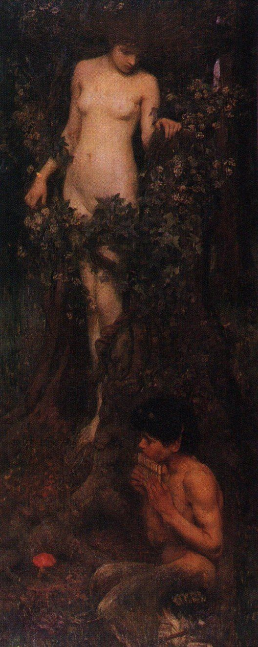 John William Waterhouse: A Hamadryad - 1895