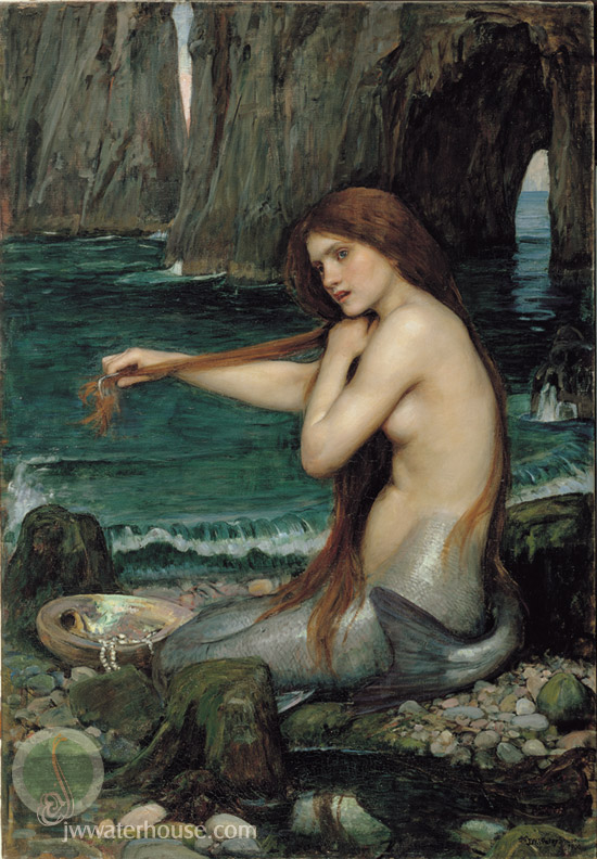 John William Waterhouse: A Mermaid - 1901