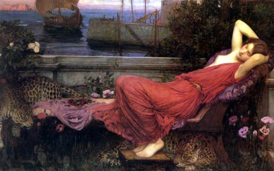 John William Waterhouse: Ariadne - 1898