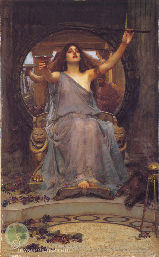 Tilla Durieux as Circe