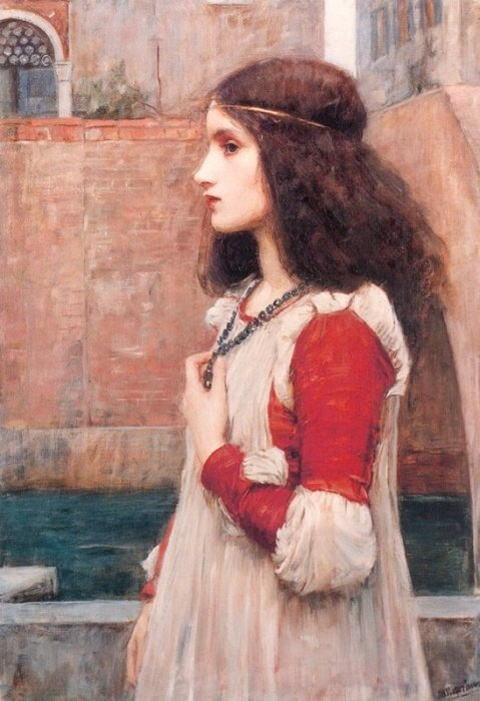 John William Waterhouse: Juliet - 1898