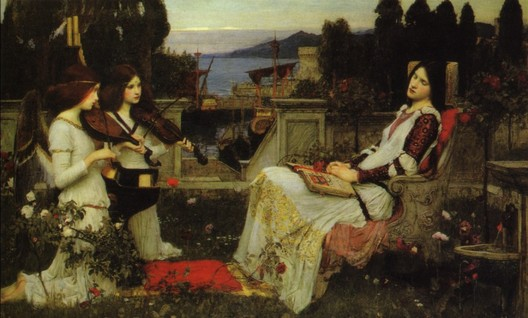 John William Waterhouse: St Cecilia - 1895